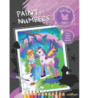 Paint By Numbers Malebog - Eventyrskov