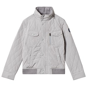Ralph Lauren Channel Grey Quilted Jacket 2 years