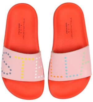 Stella McCartney Kids Badesandaler - Rød