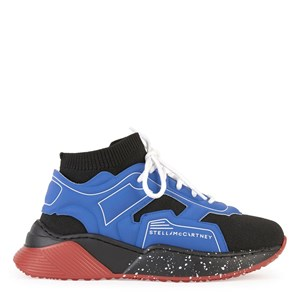 Stella McCartney Kids Branded Sneakers Blue 32 EU