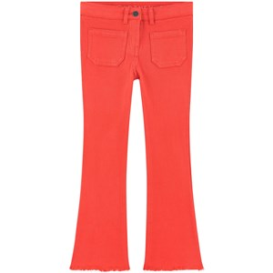 Stella McCartney Kids Flare Fit Jeans Red 5 år