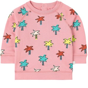 Stella McCartney Kids Pink Palms Sweatshirt 12 mdr