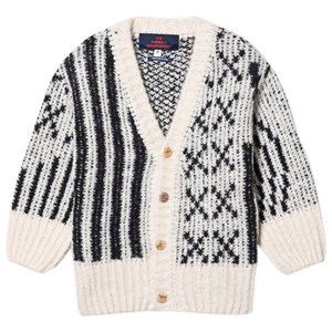The Animals Observatory Racoon Cardigan Sort 4 år