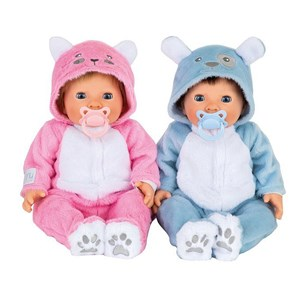 Tiny Treasure Doll Teddy Outfit Twins Dukker 3+ years