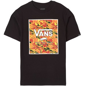 Vans Off the Wall T-shirt Sort S (8-10 years)