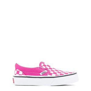 Vans Pink Check Slip-On Trainers 27 (UK 10, US 10.5)