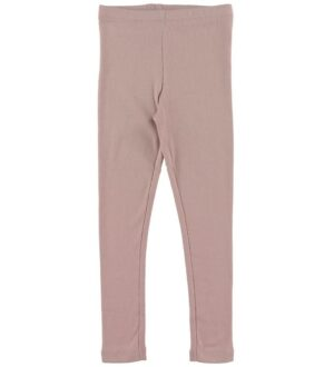 Wheat Leggings - Rib - Rose Powder