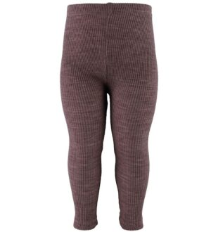 Wheat Leggings - Uld - Plum Melange