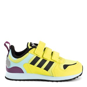 adidas Originals ZX 700 Velcro Sneakere Gule 30 (UK 11.5)