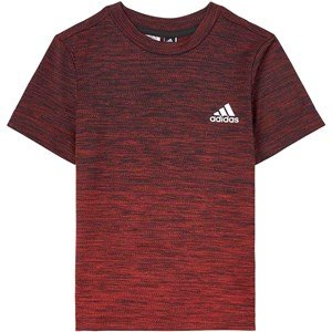 adidas Performance Aeroready Gradient T-Shirt Red 5-6 years (116 cm)