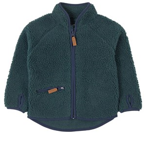 ebbe Kids Bradley Terry Fleece Jacket Wood Green 134 cm (8-9 år)