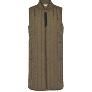 Basic Apparel lang termo vest, Louisa - Capers Green