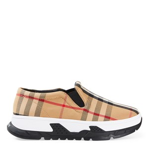Burberry Betty Check Sneakers Archive Beige 32 (UK 2)