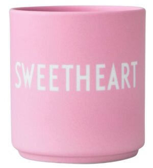 Design Letters Kop - Favourite Cups - Sweetheart - Pink