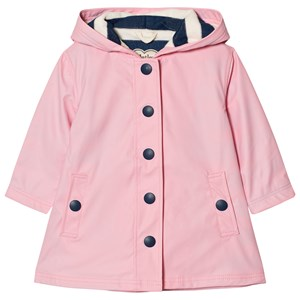 Hatley Splash Fleece Lined Regnjakke Pink 3 years