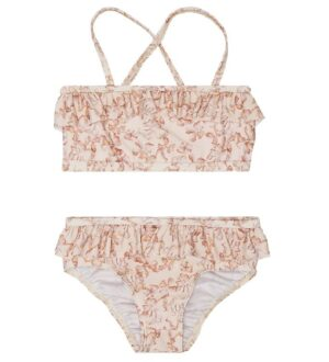 Mini A Ture Bikini - Githa - UV50+ - Shell Rose m. Blomster