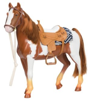 Our Generation Ridehest - 50 cm - Pinto
