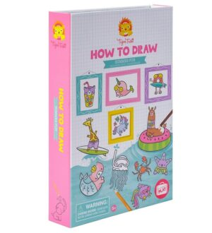Tiger Tribe Tegnesæt - How to Draw - Summer Fun