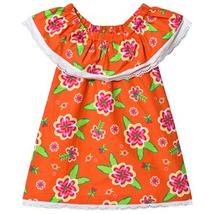 Agatha Ruiz de la Prada Bahia Kjole Orange 12 years
