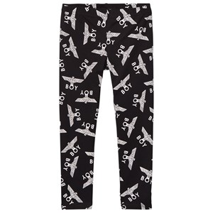 Boy London Boy Repeat Leggings Black/White 11-12 år