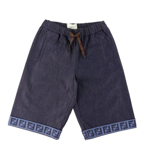 Fendi Shorts - Navy m. Logobånd