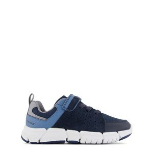 Geox Navy Flexyper Velcro Trainers 28 (UK 10)