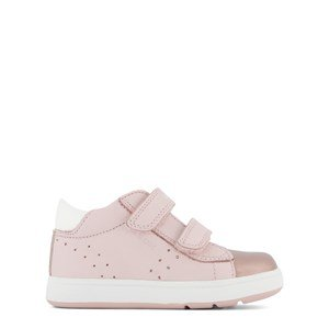 Geox Rose Pink and Gold Velcro Biglia Shoes 21 (UK 4.5)