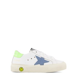 Golden Goose White Leather May Trainers 24 (UK 7)
