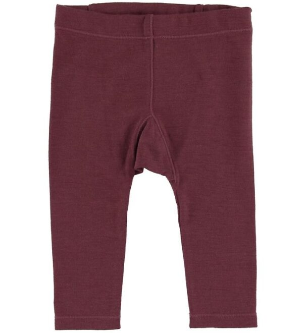 Hust and Claire Leggings - Lotta - Uld - Bordeaux