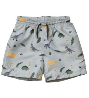 Liewood Badeshorts - Duke - UV50+ - Dino Dove Blue Mix