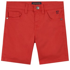 Mayoral Chino Shorts Red 4 år