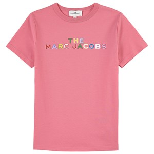 The Marc Jacobs Logo T-shirt Lyserød 5 år