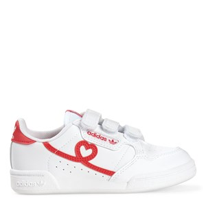adidas Originals Hearts Continental 80 Sneakers White 32 (UK 13.5)