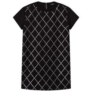 Balmain Diamante Argyle Kjole Sort 12 years