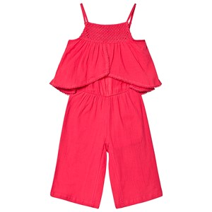 Catimini Pink Lagdelt Jumpsuit 6 years