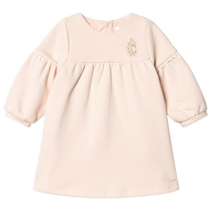 Chloé Embroidred Kjole Lys pink 2 years