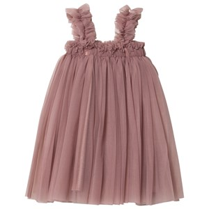 DOLLY by Le Petit Tom Tutu Dress Beach Cover Up Kjole Mauve Newborn (3-18 mdr)