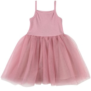 DOLLY by Le Petit Tom Vintage Romantic Tutu Kjole Lyserød Petite (1-3 år)