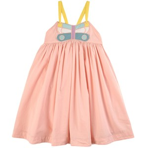 Stella McCartney Kids Butterfly Applique Kjole Lyserød 10 år